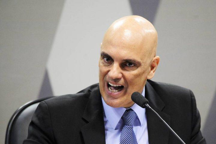Alexandre de Moraes manda bloquear redes sociais de 7 suspeitos de atacar o STF